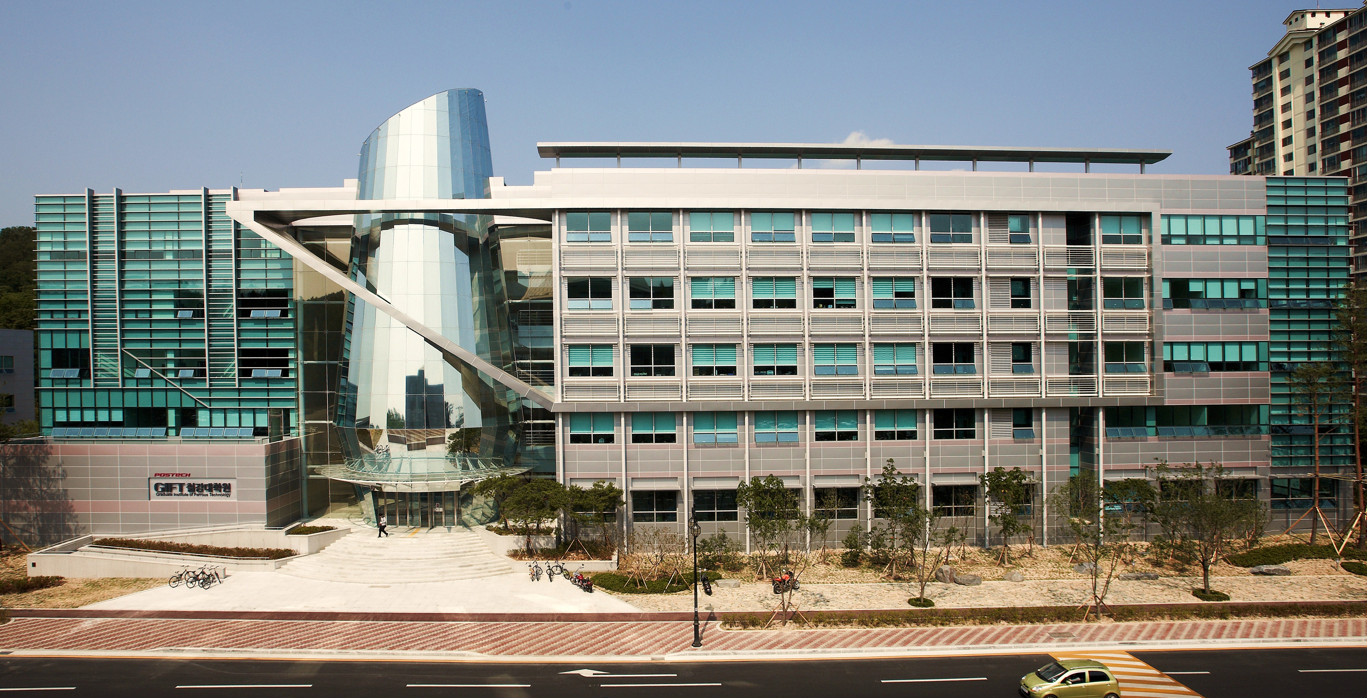 POSTECH_New_Building credits-Wikimedia Commons