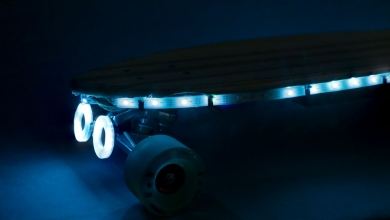 Photo of La stampa 3D (e i NeoPixel) accendono le luci sul vostro skate
