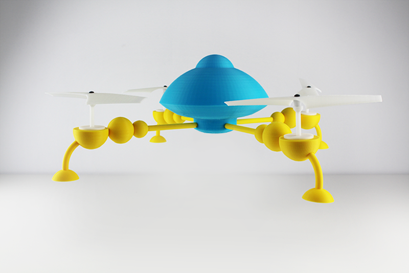 hololens-quadcopter-3D-printed-by-zortrax