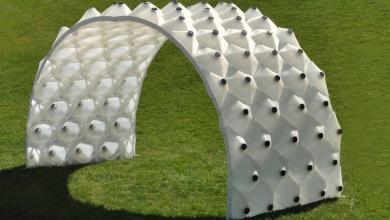 Photo of Il Solar Byte Pavilion segue il sole verso il futuro dell'architettura