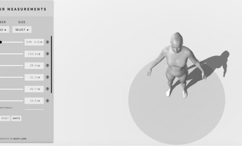 Photo of Vivere un'esperienza extracorporea in 3D è più facile con le nuove API di Body Labs
