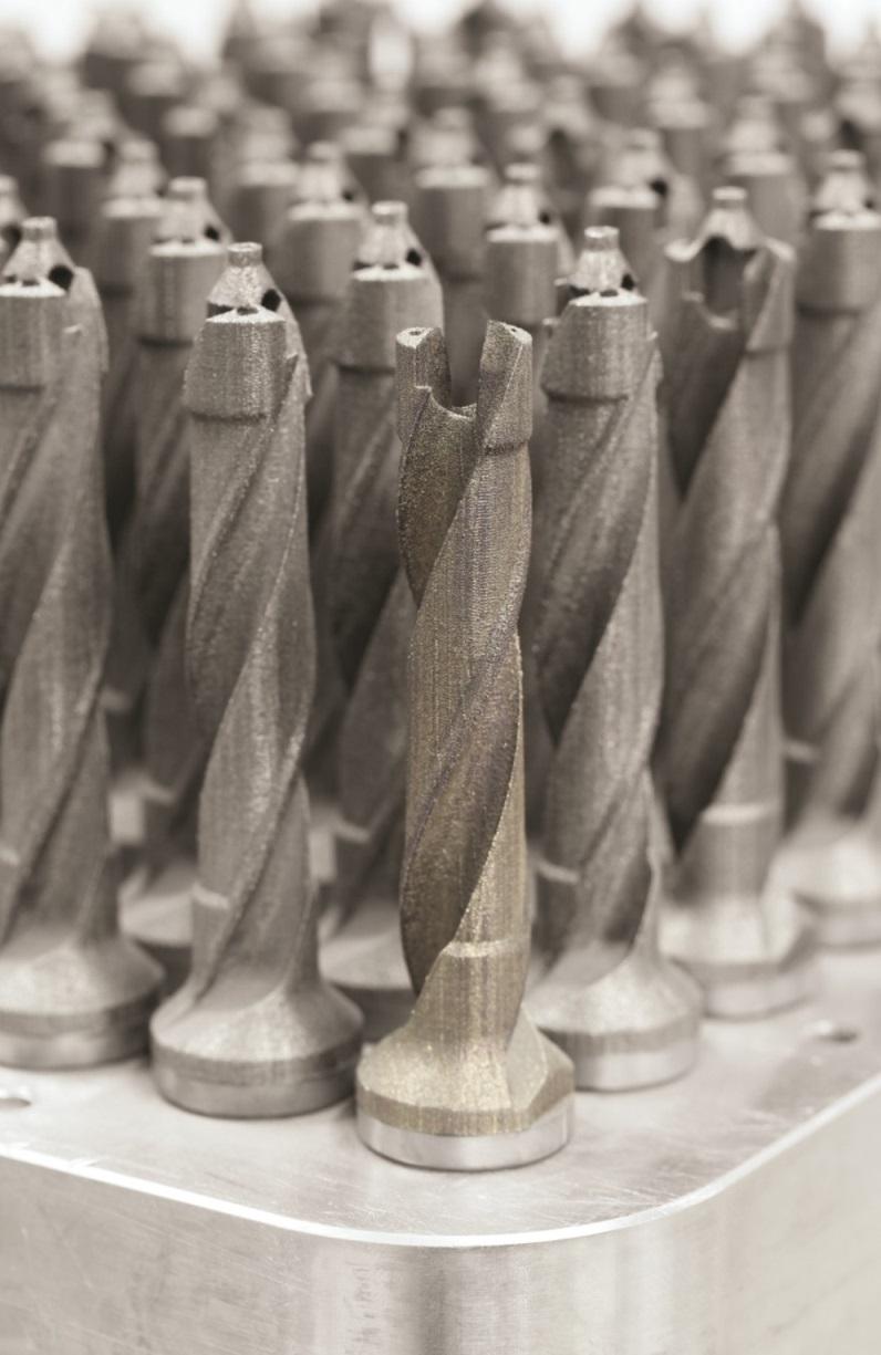 Mapal 3D printed drill5