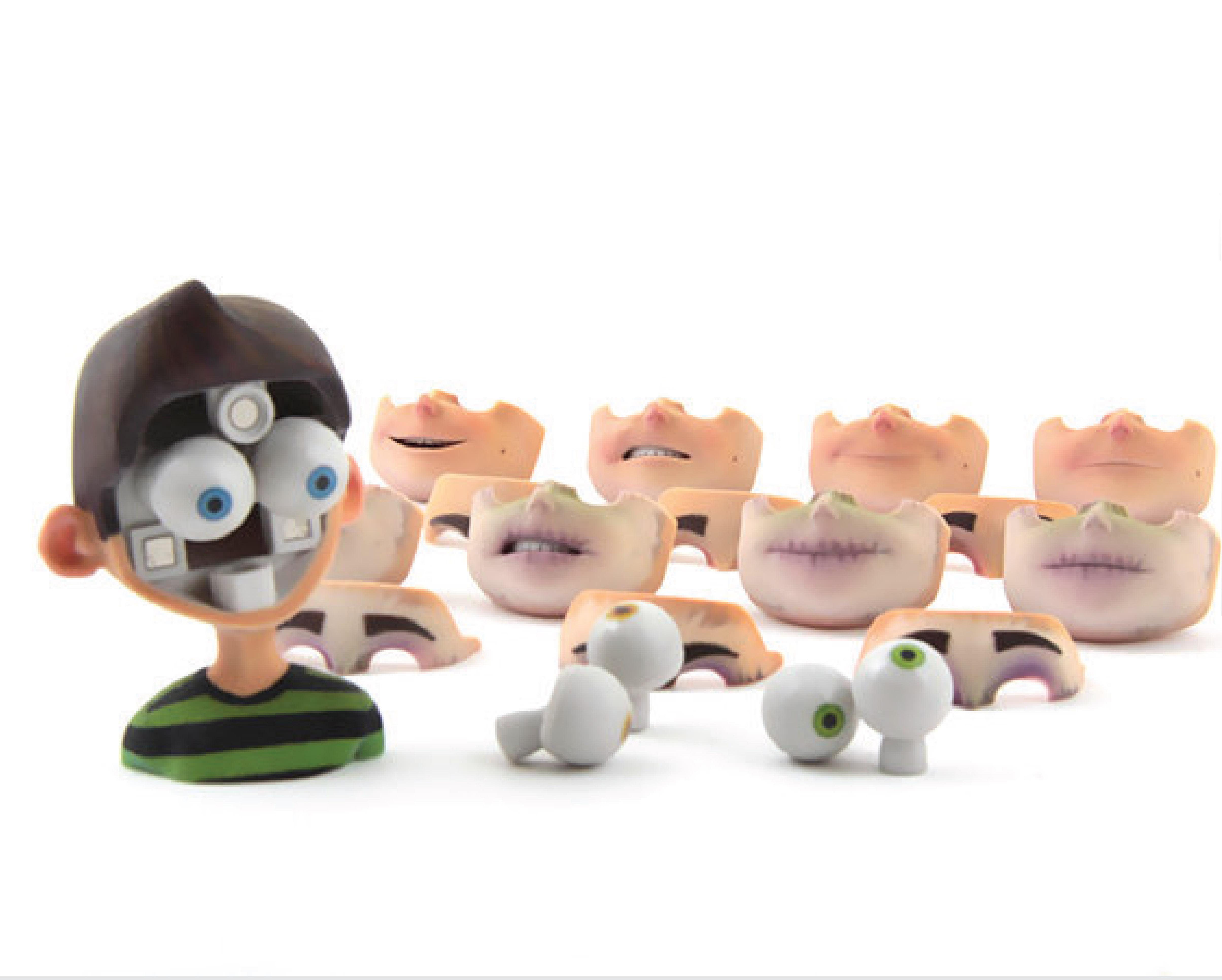 Il sistema di headset progettato da Protocube per consentire agli animatori di ottimizzare il processo di animazione delle espressioni del puppet