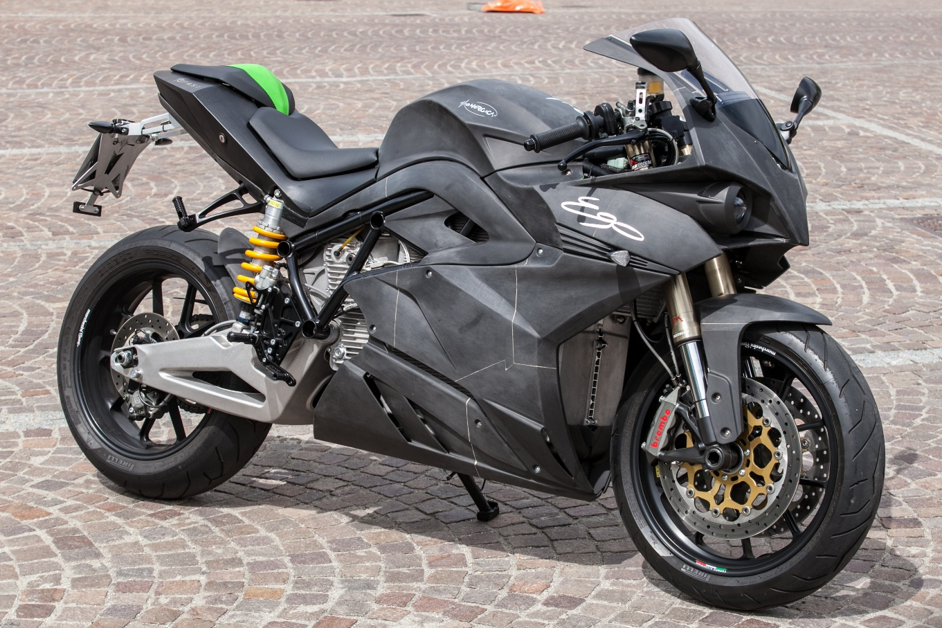 EnergicaEgo_Windform_3D-printed electric motorcycle