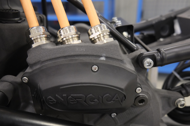 Motor power terminal cover