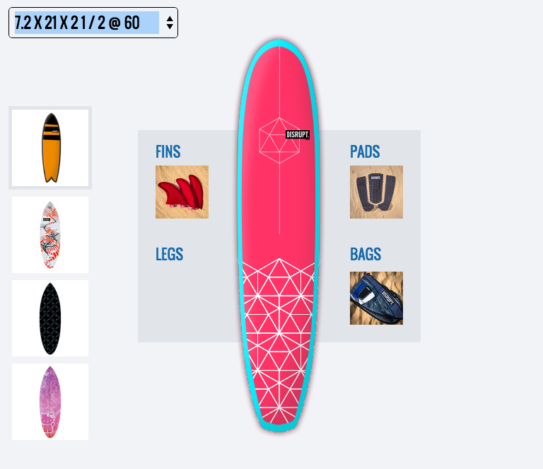 Disrupt 3D printed surfboard7