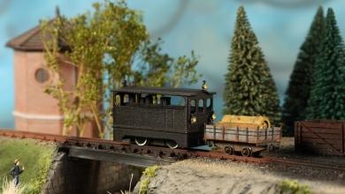 Photo of Jellymodels prende il treno in miniatura della stampa 3D consumer