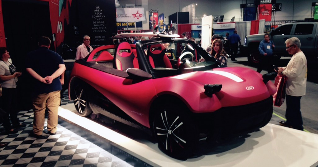 Local-Motors-LM3D-Swim-3D-printed-car-at-SEMA-2-1024x539