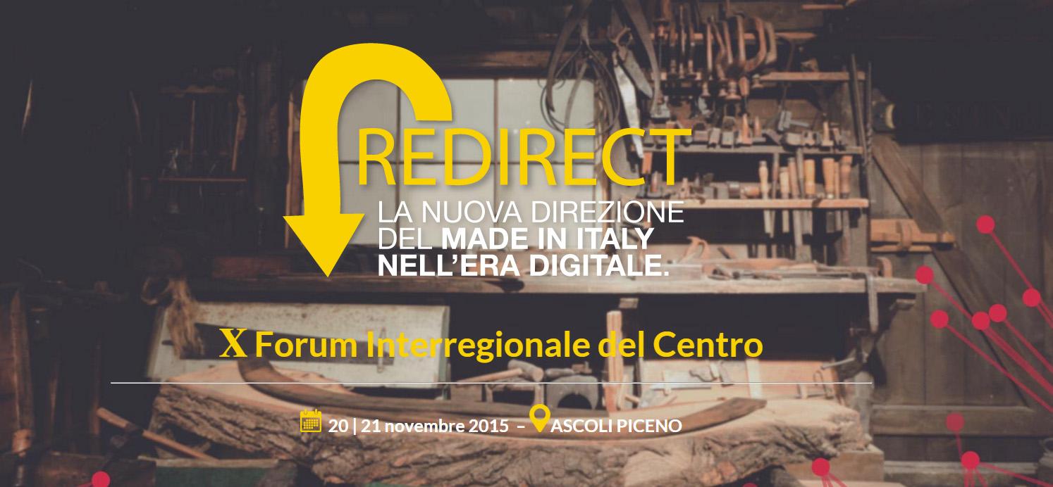 redirect workshop stampa 3d