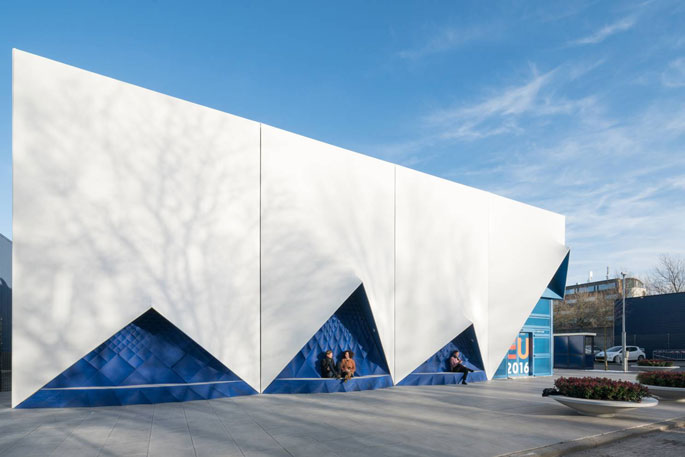DUS Architect Europe Building 3D Printed Facade4