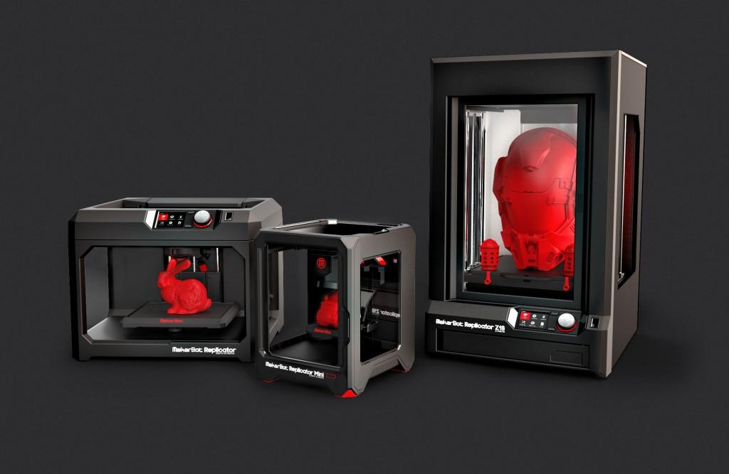 multinazionali stampa 3D makerbot