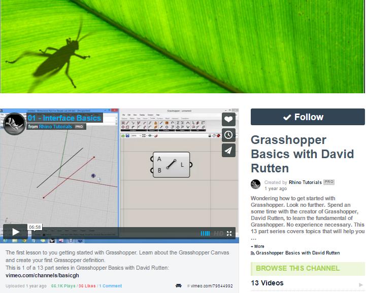grasshopper 1 per rhino 6