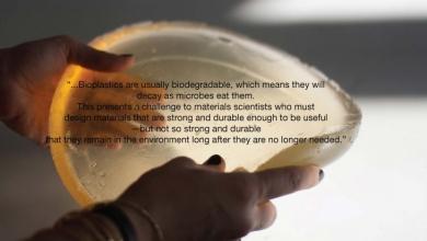 Photo of BIOPLASTICA dalle bucce d'arancia e dal caffè prodotta dallo IAAC, stampabile in 3D