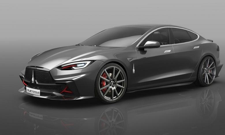 Photo of Skorpion stampa in 3D le modifiche alla Tesla Model S di Up Design