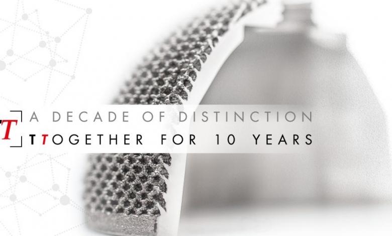 Photo of Lima Corporate festeggia il decimo compleanno delle protesi stampate in 3D Trabecular Titanium
