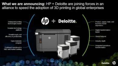 Photo of HP e Deloitte annunciano una partnership per accelerare la trasformazione digitale dell'industria manifatturiera