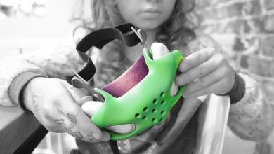 Photo of Tecnologia Sinterit SLS e software Autodesk per le maschere per bambini Brifo