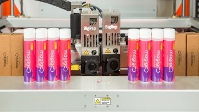 Photo of BigRep e Magigoo collaborano al lancio di un adesivo per grandi formati