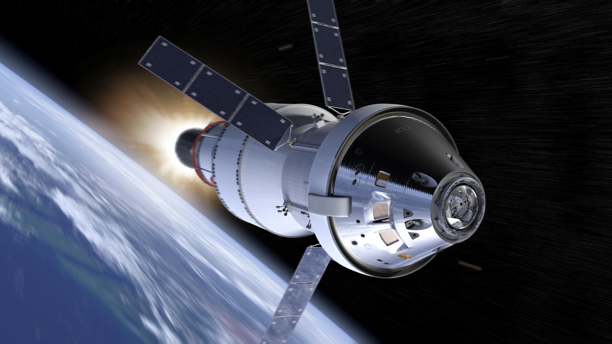 Orion è il veicolo spaziale della NASA che invierà gli astronauti sulla luna