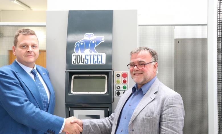 Photo of MORE Manufacturing riceve un sistema 3D4Steel per ricerca e attività di laboratorio sulla stampa 3D degli acciai