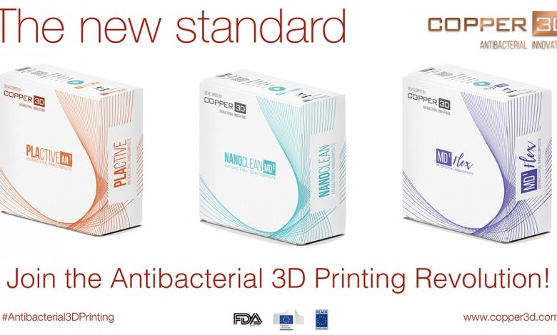 Photo of Sbarca in Europa il filamento antibatterico di Copper3D