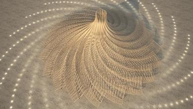 Photo of Un'installazione stampata in 3D per il Salone del Mobile di Milano
