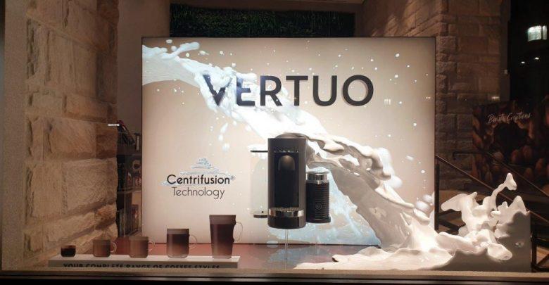 Photo of Composite Images stampa in 3D una spettacolare vetrina per le macchine Nespresso Vertuo