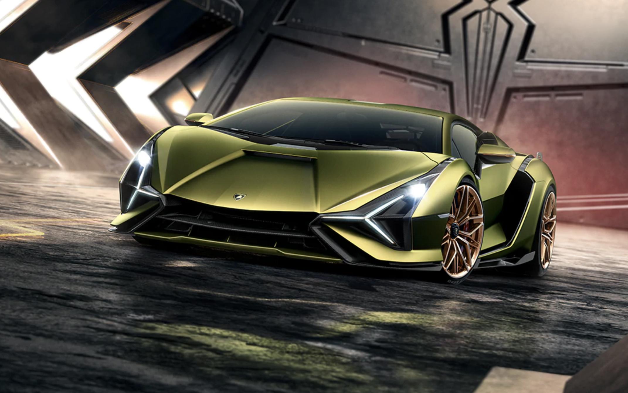 Carbon e Lamborghini