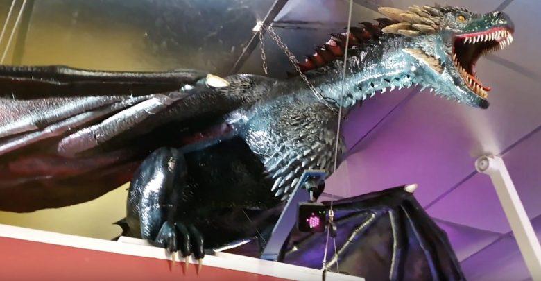 Photo of Drogon di GoT stampato in 3D a grandezza naturale