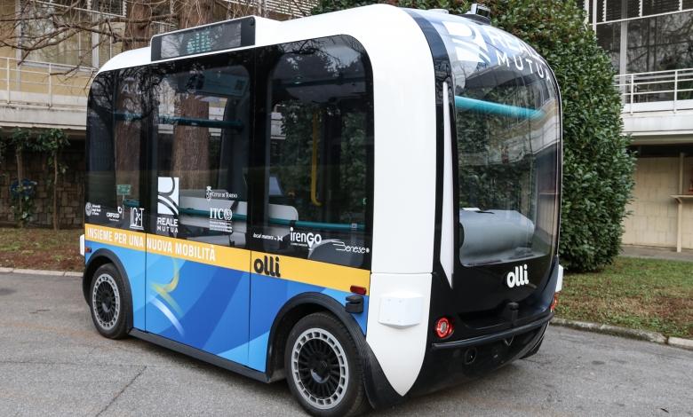 Photo of Arriva a Torino Olli, il minibus elettrico con parti stampate in 3D