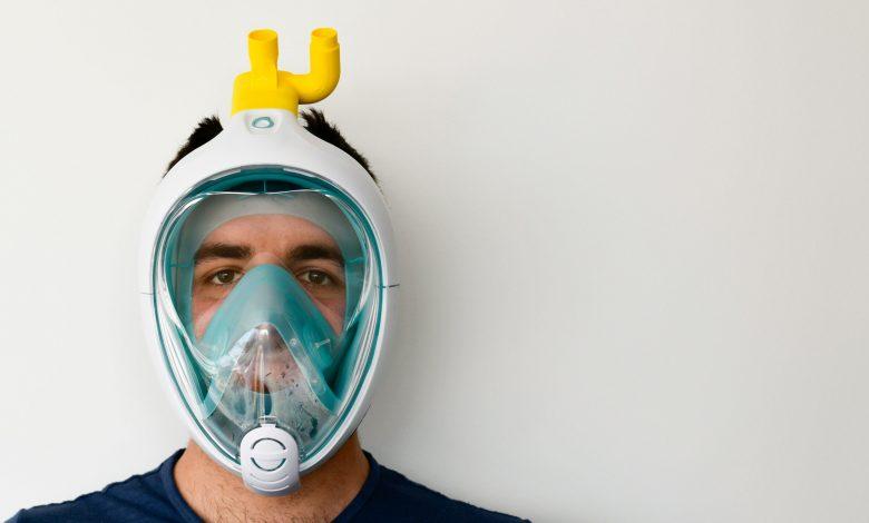 Photo of Isinnova trasforma la maschera da snorkeling in un respiratore