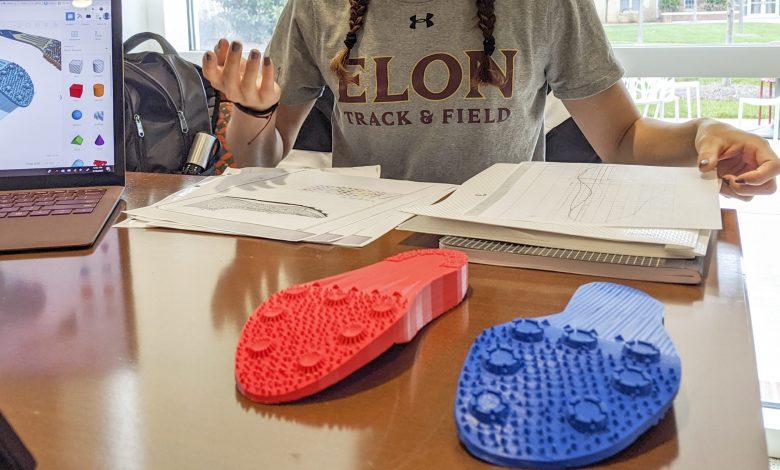 Photo of Studentessa progetta scarpe da donna per il salto con l'asta stampate in 3D