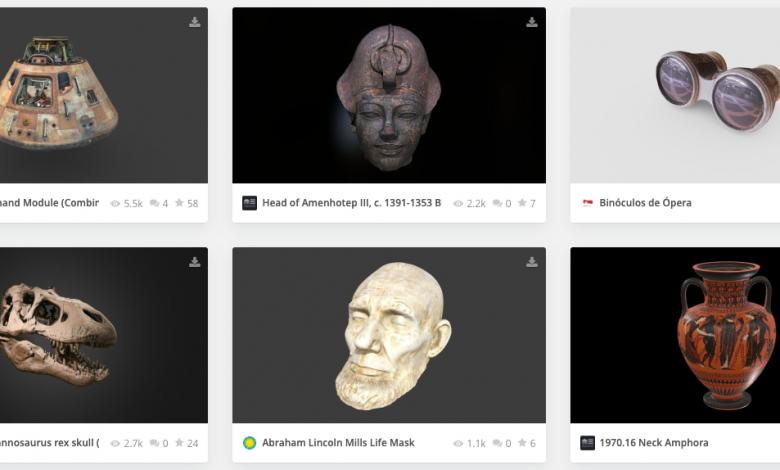 Photo of Sketchfab rende di dominio pubblico i modelli 3D delle opere d'arte