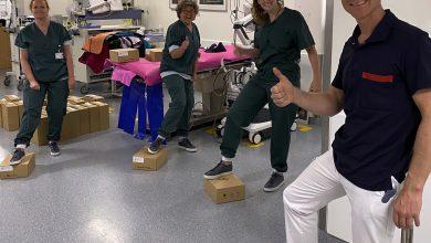 Photo of Quant-U dona scarpe personalizzate stampate in 3D agli operatori ospedalieri olandesi
