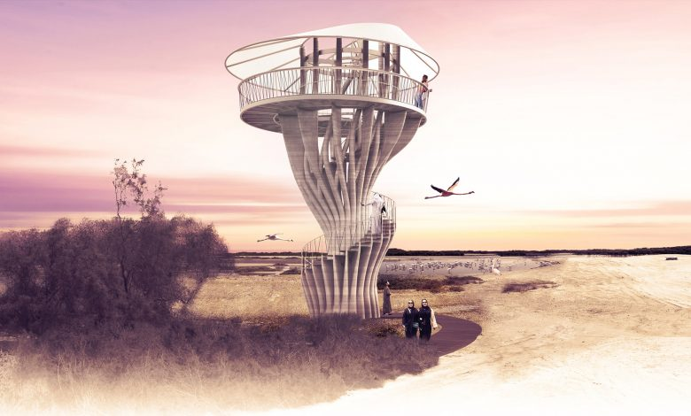 Photo of Supernatural Concre(a)tion, un progetto realistico per una torre paronamica stampata in 3D