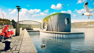 Photo of La Repubblica Ceca accoglie la prima casa galleggiante stampata in 3D