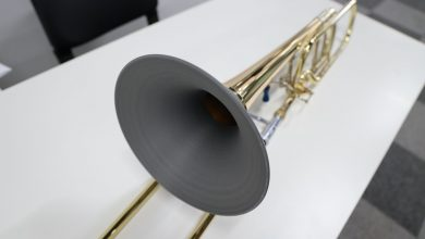 Photo of Dall'ottone all'AM: il trombone stampato in 3D di LOOP 3D