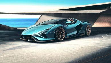 Photo of Le nuove prese d'aria stampate in 3D consentono un'estrema personalizzazione nella nuova Lamborghini Sián Roadster