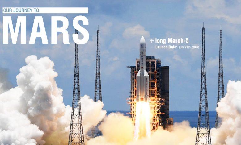 Photo of Il razzo Long March-5 è diretto su Marte con parti stampate in 3D