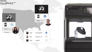 Photo of MakerBot presenta il software CloudPrint per la collaborazione da remoto