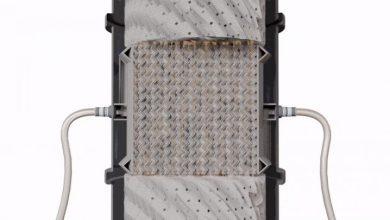 Photo of Il team ORNL migliora l'assorbimento di CO2 con un dispositivo stampato in 3D