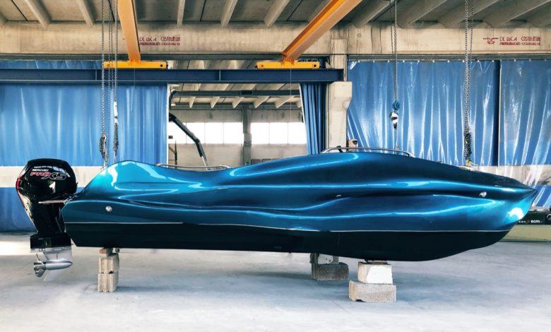 Photo of MAMBO la prima barca al mondo stampata in 3d in vetroresina da Moi Composites