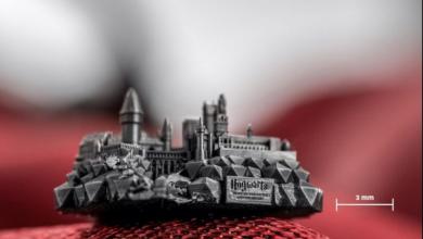 Photo of Hogwarts stampato in micro-3D mostra le capacità ad alta definizione del Tera 250 di Nanofabrica