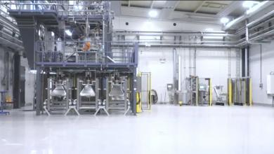 Photo of All'interno del modernissimo impianto Sandvik di atomizzazione per il titanio