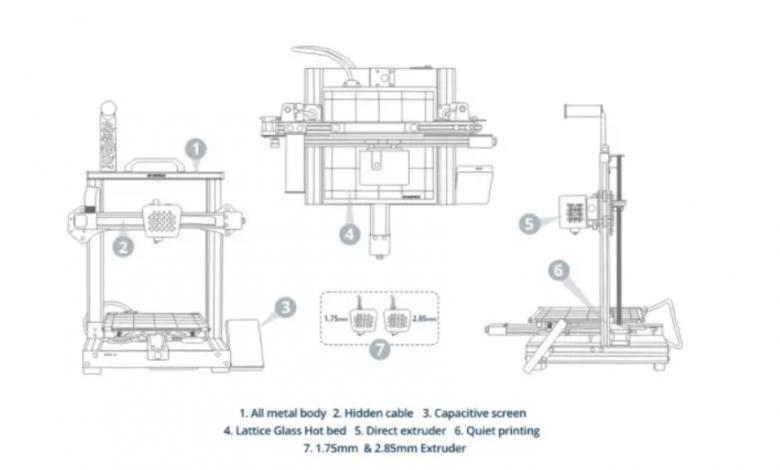 Photo of Atomstack lancia la linea Cambrian di stampanti 3D desktop in gomma