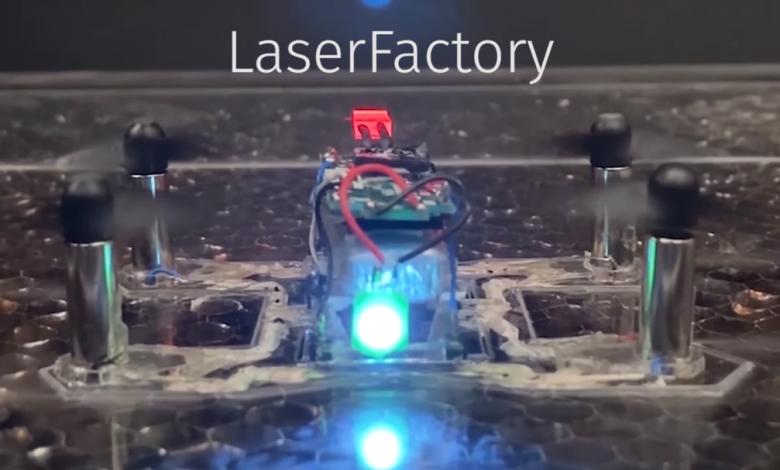 Photo of MIT CSAIL sviluppa la LaserFactory in grado di stampare robot