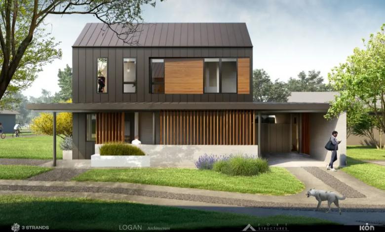 Photo of 3Strands sta costruendo case stampate in 3D in vendita ad Austin