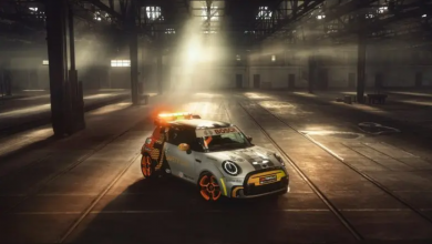 Photo of La safety car MINI Electric Pacesetter Formula E è dotata di sedili stampati in 3D