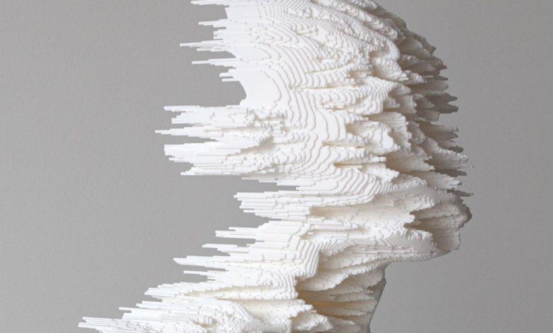 """Photo of Postnatural Head di Filippo Nassetti guarda all' """"erosione"""" dei lineamenti umani"""