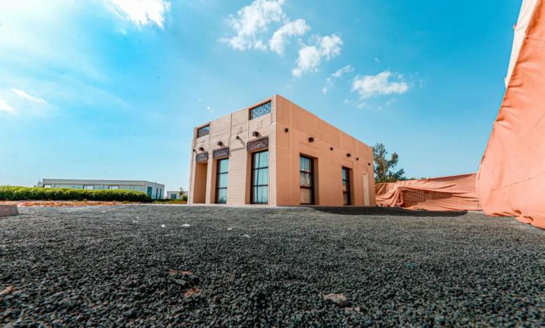 Photo of All'interno della villa stampata in 3D da MEET 3D negli Emirati Arabi Uniti con tecnologia CyBe